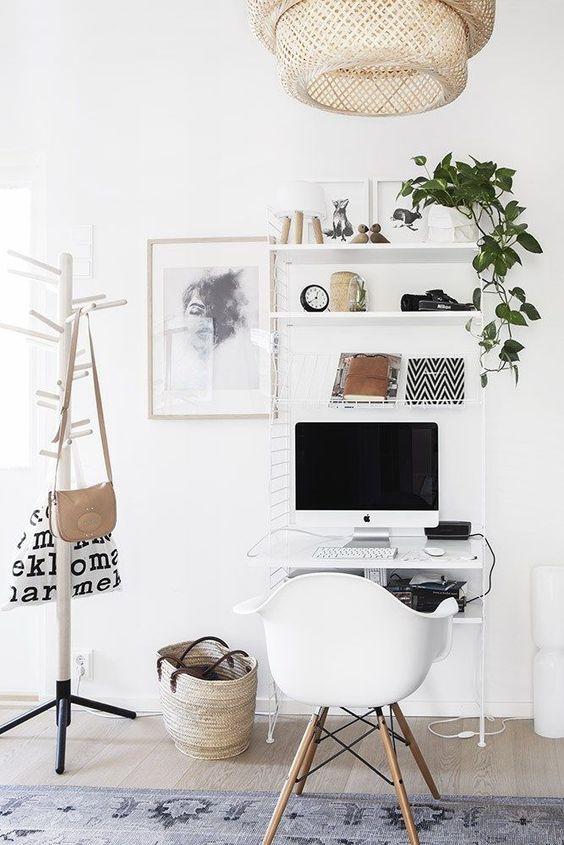 domowe biuro jak urządzić praktycznie