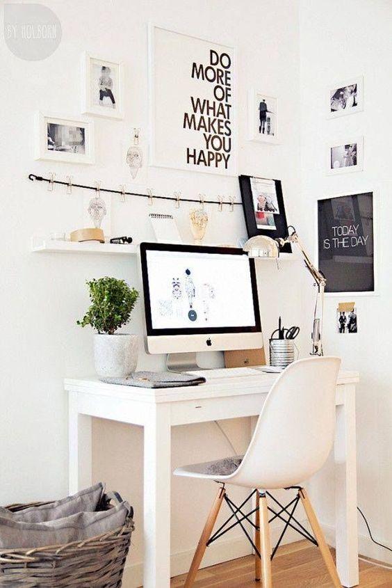domowe biuro jak urządzić je w młodzieżowym stylu