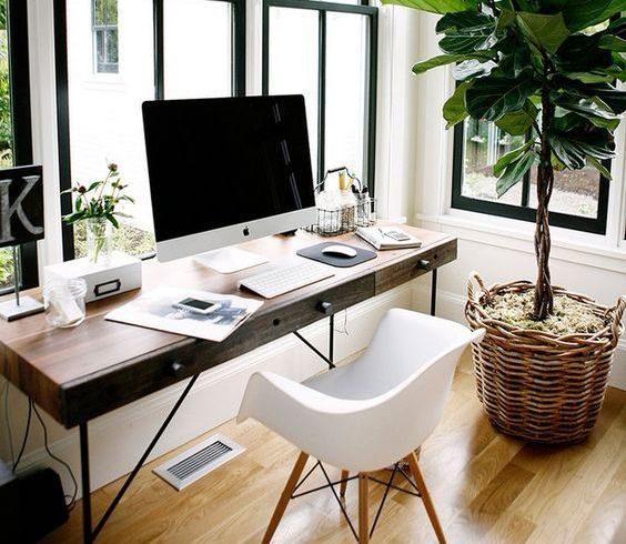 domowe biuro jak urządzić je pięknie