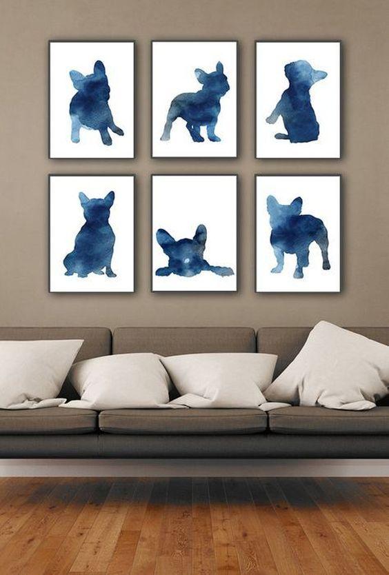dodatki z motywem psa – plakaty