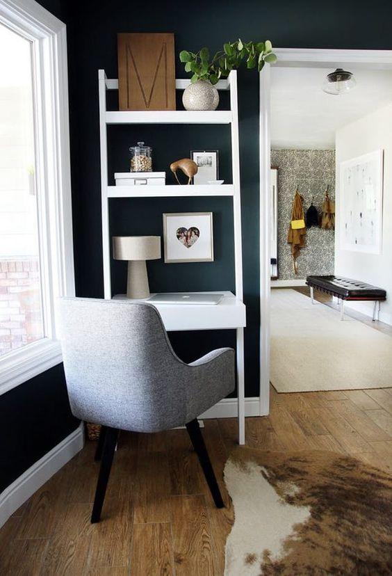 domowe biuro jak urządzić je na małej przestrzeni