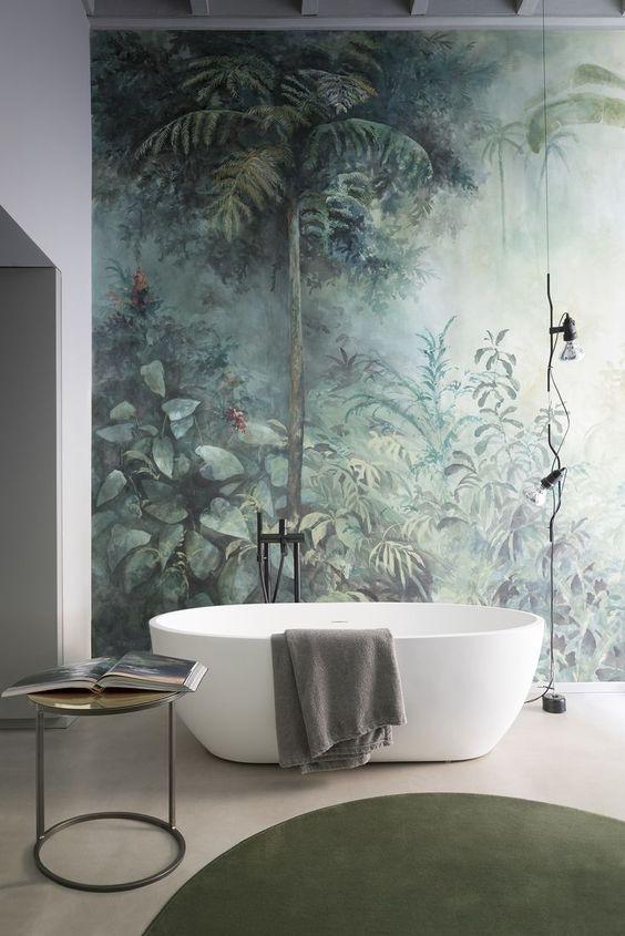 roślinność do łazienki
