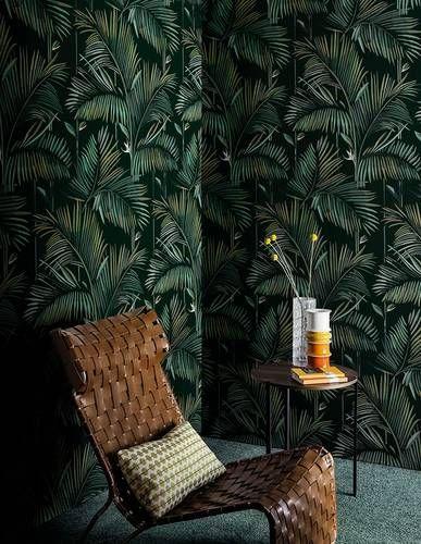 Egzotyczne liście tropikalne