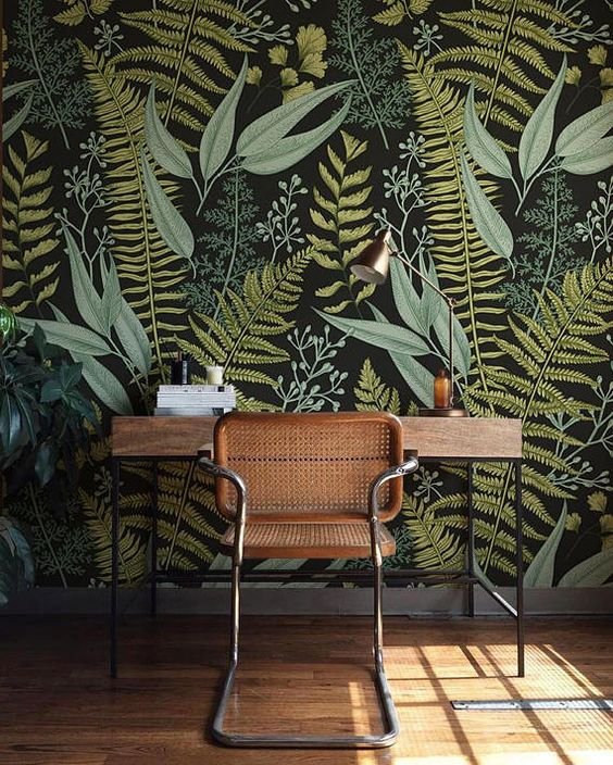 Egzotyczne rośliny na fototapetach czyli hit ostatniego sezonu